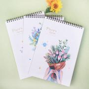 Floras Garden Spiral Sketchbook B4