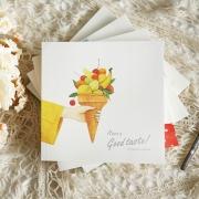 Have a Good Taste Square Sketchbook
