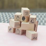 Lovin Life Mini Wood Stamp