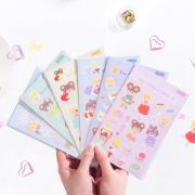 Sweetheart Milk Diary Deco Stickers