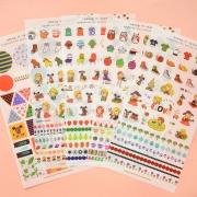 Odong et Valerie Stickers