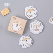 Bouncy Shiba Inu Deco Sticker Pack