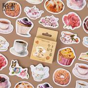 Elegant Tea Time Deco Sticker Pack