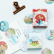 Landmark Illustration Deco Sticker Pack