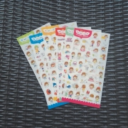 WanDooCong Everyday Diary Deco Stickers
