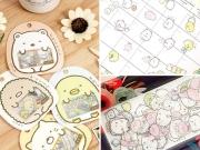 Sumikko Gurashi PVC Sticker Pack
