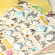 3D Stickers Totoro