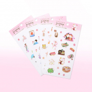 Blooming Day Diary Deco Stickers