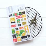 Bon Appetit Diary Deco Stickers