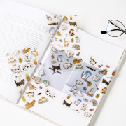 Cat Doodle Diary Deco Stickers