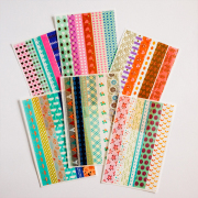 Colorful Tape Colorful World Diary Deco Stickers