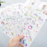 Cute Unicorn Diary Deco Stickers