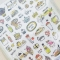 Brunch Day Diary Deco Stickers