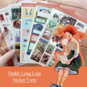 Daddy Long Legs Deco Stickers