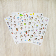 Bungirl Daily Life Diary Deco Stickers