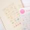 Monet Bubble Diary Deco Stickers