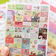 Hong Dding ver3 Diary Deco Stickers