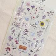 Suatelier Secret Garden Diary Deco Stickers