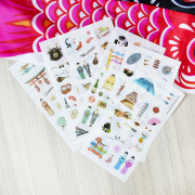 One Day in Japan Diary Deco Stickers