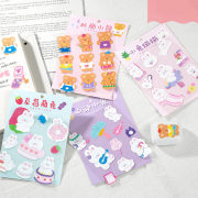 Bale Bear and Friends Diary Deco Stickers