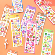 Candy Bear Diary Deco Stickers