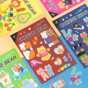 Cheese Bear Diary Deco Stickers