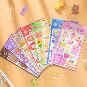 Colorful Tales Diary Deco Stickers