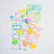 Colorful Watercolor Diary Deco Stickers