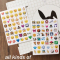 Emoji Collection Diary Deco Stickers