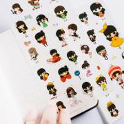 Fashion Girl Diary Deco Stickers