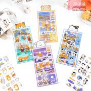 Four Seasons Animal Diary Deco Stickers