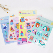 Game Time Rabbit Diary Deco Stickers