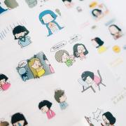 Korean Girls Life Diary Deco Stickers