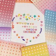 Mini Letters Alphabet Diary Deco Stickers