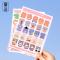 Moeduo Monogatari Diary Deco Stickers
