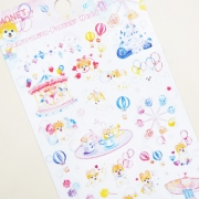 Monet Pomeranian Fantasy Diary Deco Stickers