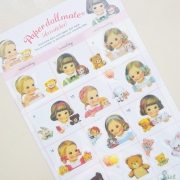 Paper Doll Mate Close Up Diary Deco Stickers