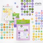 Spring Wild Flower Diary Deco Stickers