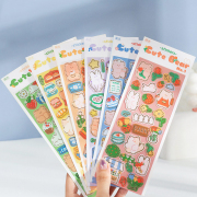 Stories of Cute Bear Diary Deco Stickers