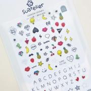 Suatelier Line Diary Deco Stickers