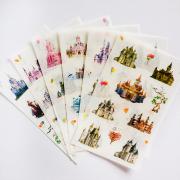 Dream Castle Diary Deco Stickers