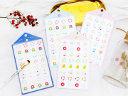 Feel The Plants Diary Deco Stickers