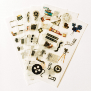 Film Movie Camera Diary Deco Stickers