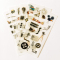 Film Movie Camera Diary Deco Stickers