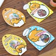 Gudetama PVC Flake Stickers