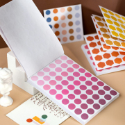 Gradient Color Swatches Point Stickers