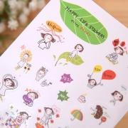 Happy Life Diary Deco Stickers