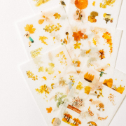 Hello Autumn Diary Deco Stickers