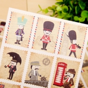 Hello Mr Guard Stamp Stickers