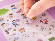 Keun Hong Happy Life Stickers